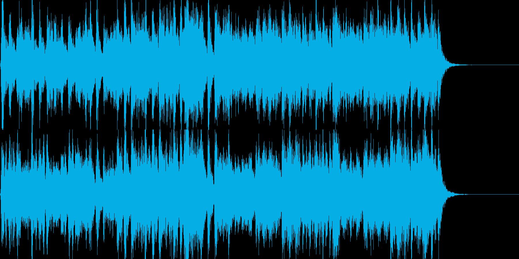 威風堂々 エルガー 第1番 冒頭の再生済みの波形