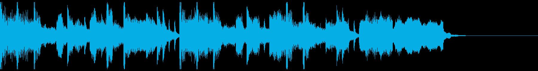 【ジングル】ムードあるピアノとサックスの再生済みの波形