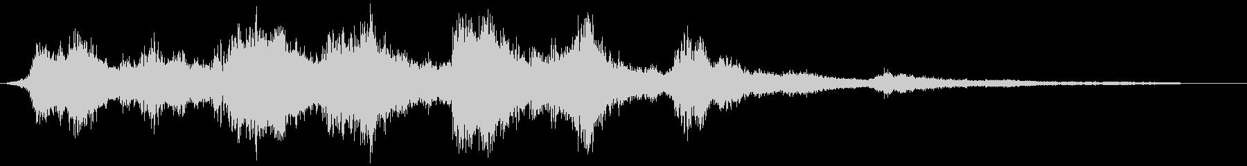 【ダーク】サウンドスケイプ_01 闇の未再生の波形
