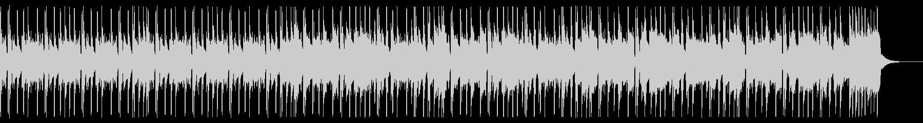 ベース&ブラスのファンクBGMの未再生の波形
