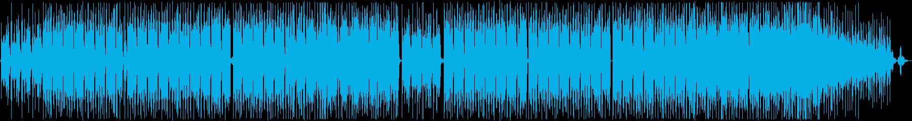 都市。グルーヴブルースファンク。歌。の再生済みの波形