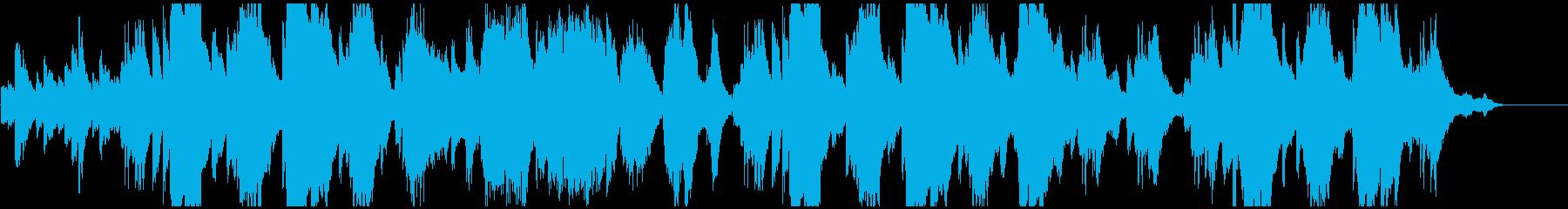 ハープを使った優しい癒しの音楽です♪の再生済みの波形