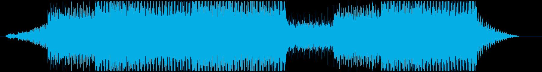 入眠していく様子を描いたIDMの再生済みの波形