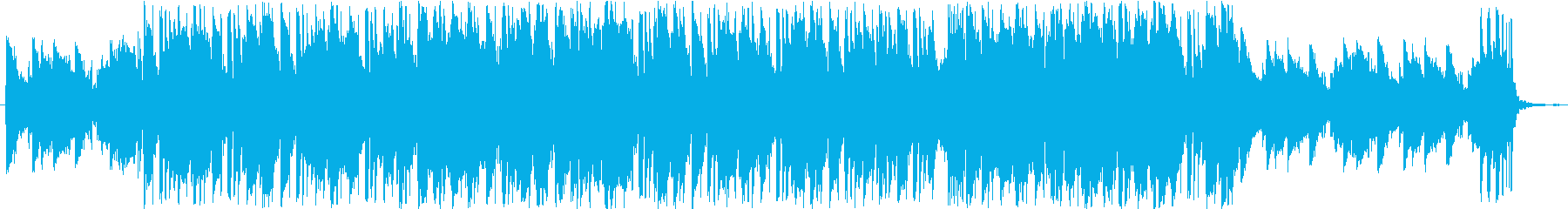 まったりとした浮遊感のあるLoFi曲の再生済みの波形