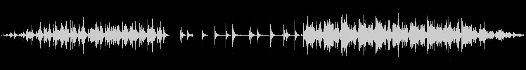明るいハイテンポなエレクトロニカの未再生の波形