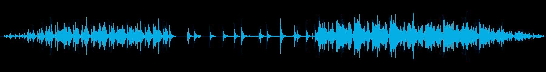 明るいハイテンポなエレクトロニカの再生済みの波形