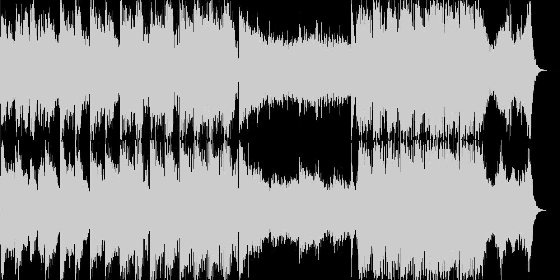 各種イベントのBGMにの未再生の波形