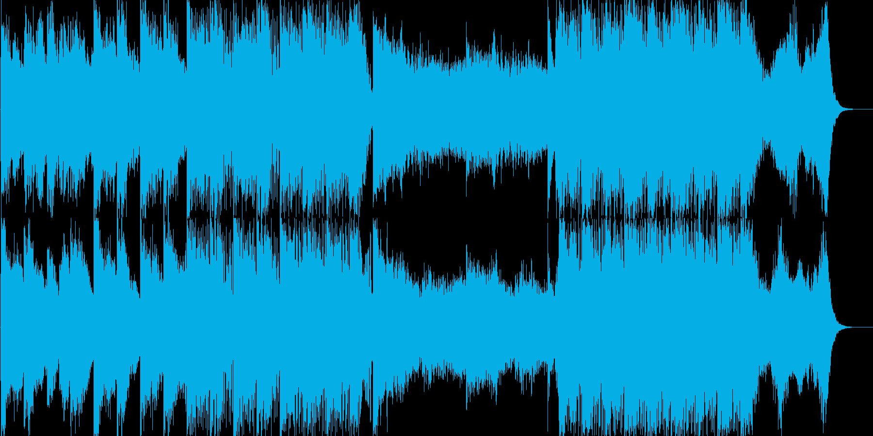 各種イベントのBGMにの再生済みの波形