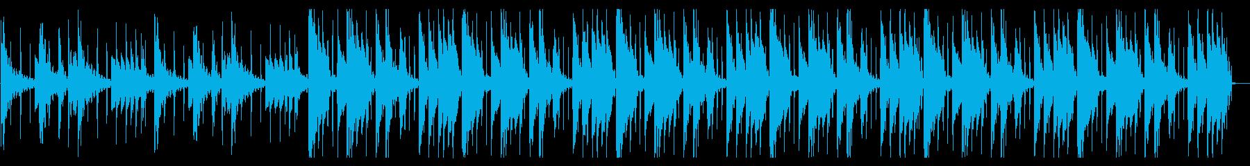 のんびりしたHiphop_No611_2の再生済みの波形