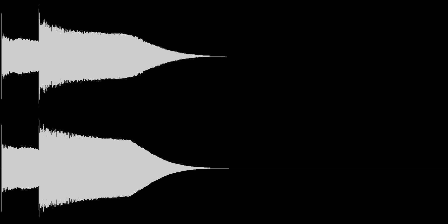 グロッケン系 決定音03(小)の未再生の波形