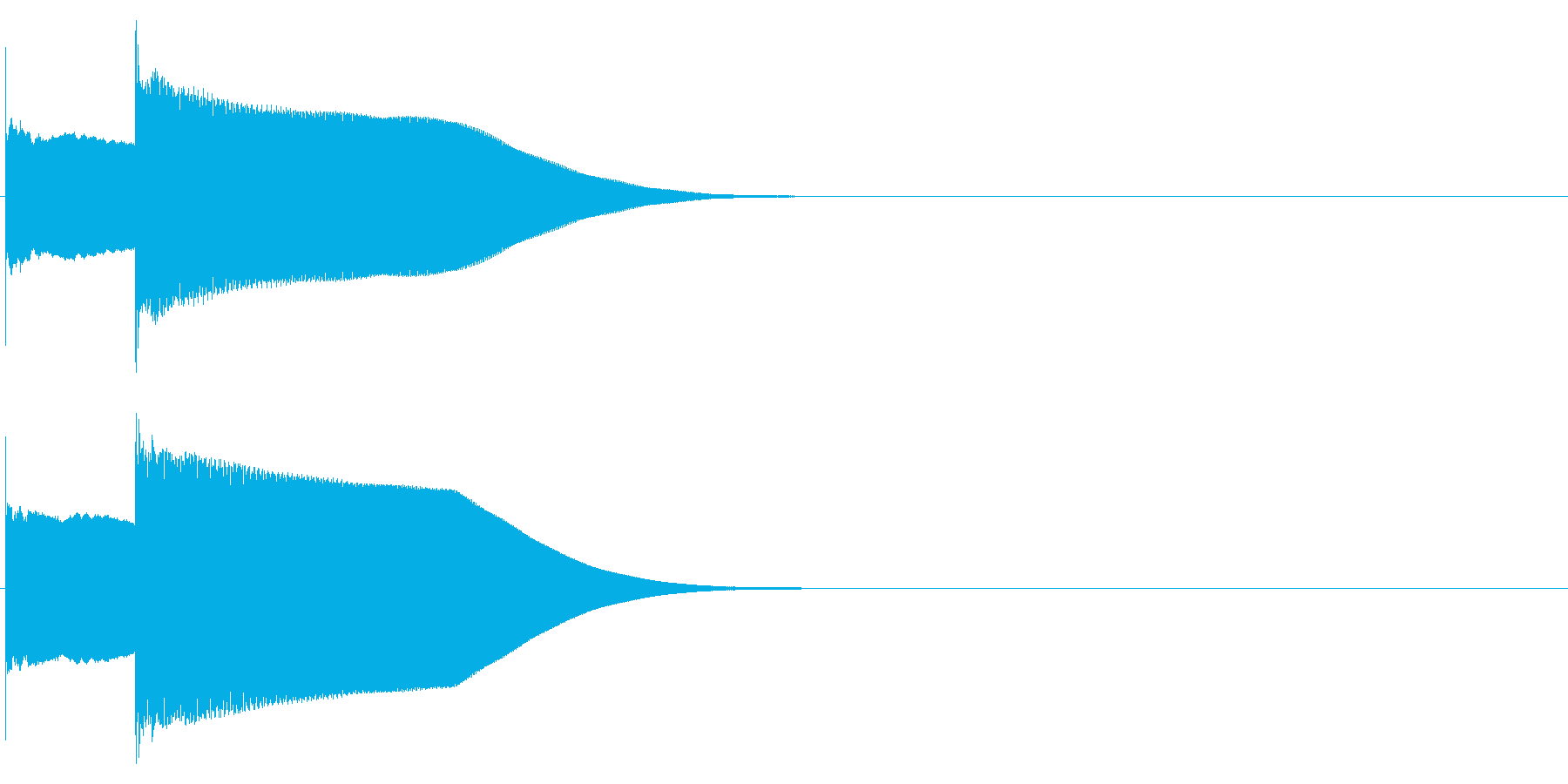 グロッケン系 決定音03(小)の再生済みの波形