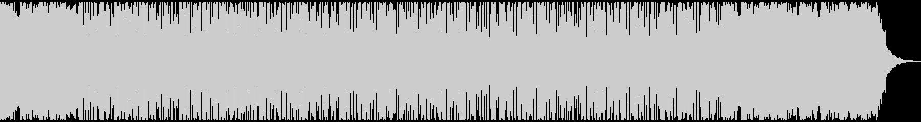VlogやHiphop楽曲制作用のビートの未再生の波形