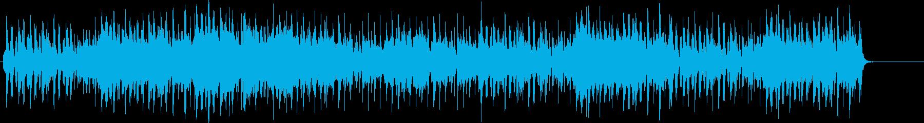 砂漠ステージ戦闘曲の再生済みの波形