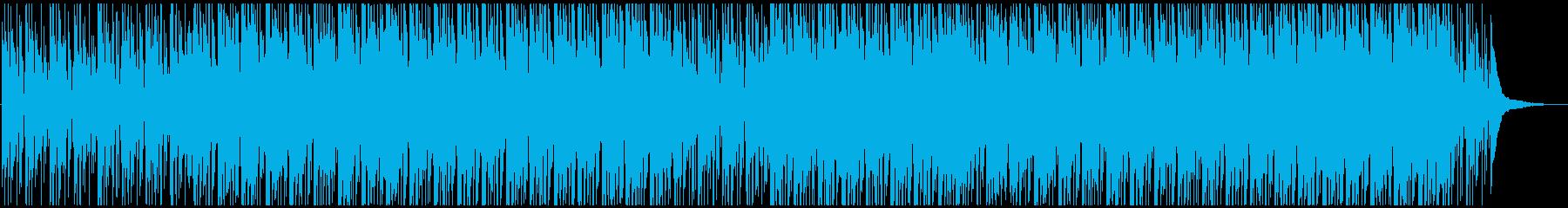 若々しい爽やか企業系明るくおしゃれ生音系の再生済みの波形