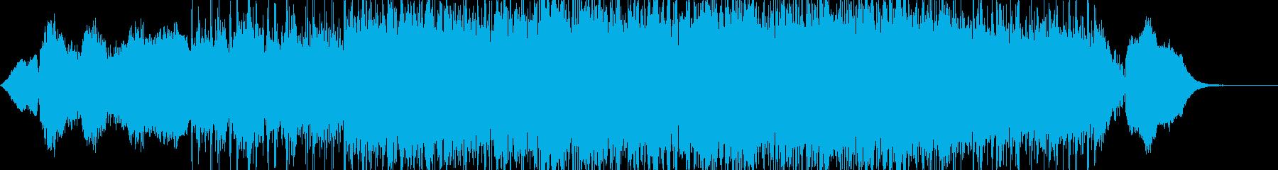 壮大 静か 前進 浮遊感 シンセ BGMの再生済みの波形