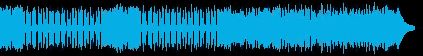 カントリー風ロックギター01Bの再生済みの波形