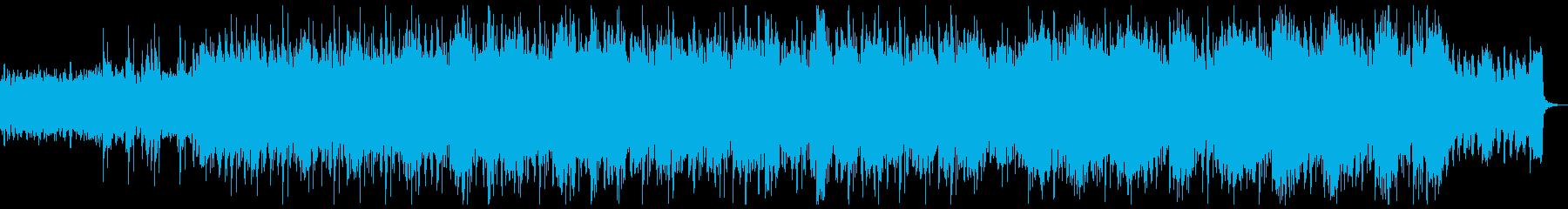 トランス テクノ エレクトロ疾走感バトルの再生済みの波形