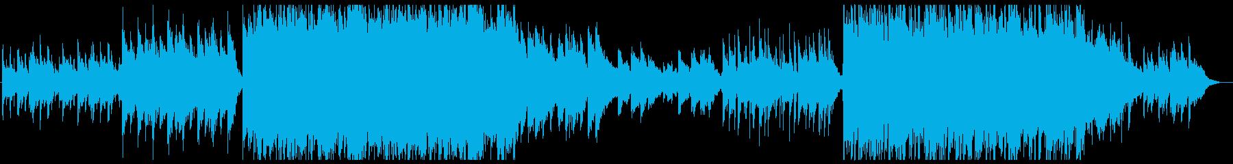 和風音階 笛メロ 弦楽の現代的アレンジの再生済みの波形