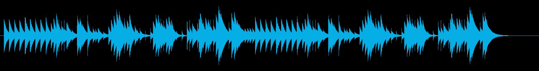 オルゴールG線上のアリアBPM48の再生済みの波形