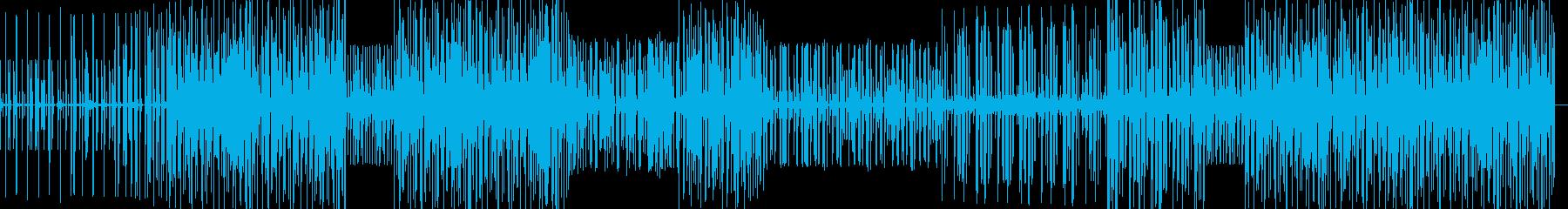 踊れるHIPHOPインストの再生済みの波形