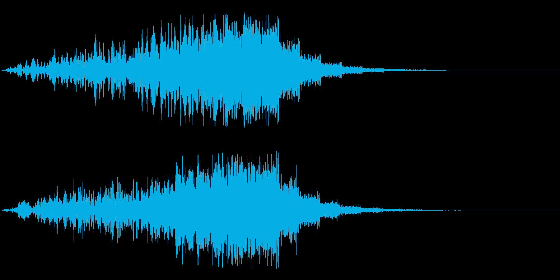 Dark_SweepUp-11Delayの再生済みの波形