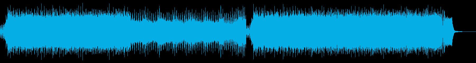 【メロなし】激しいロックアンセムの再生済みの波形