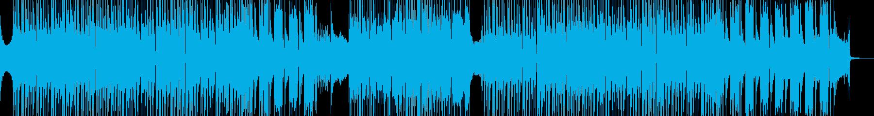 オシャレでシック・疾走するビート 短尺★の再生済みの波形