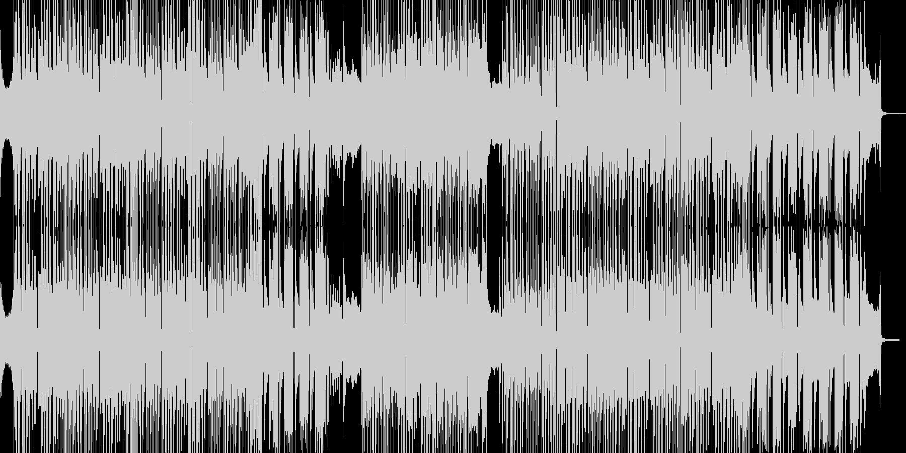 オシャレでシック・疾走するビート 短尺★の未再生の波形