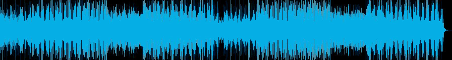Girlyな雰囲気の可愛いPOPSの再生済みの波形