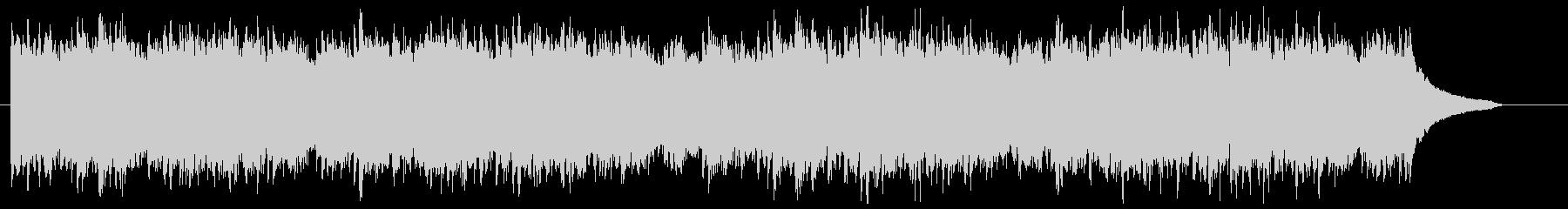 爽やかなCM動画向けピアノBGMの未再生の波形