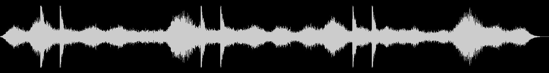 ダークファンタジー系アンビエントの未再生の波形