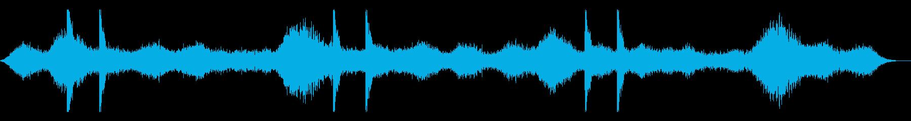 ダークファンタジー系アンビエントの再生済みの波形