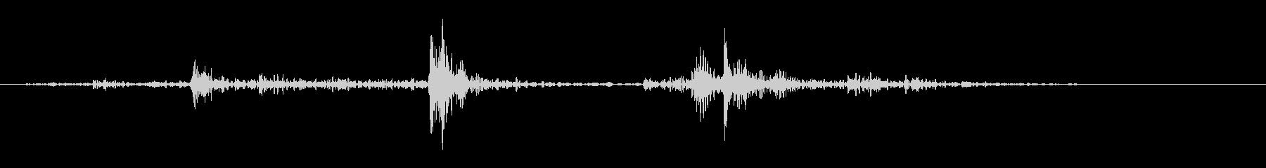 大型オークドア:ラトルハンドル、シ...の未再生の波形
