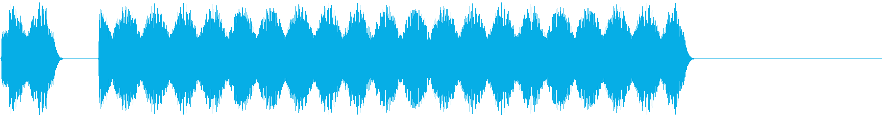 車のクラクションの音 「ビビーッ」の再生済みの波形