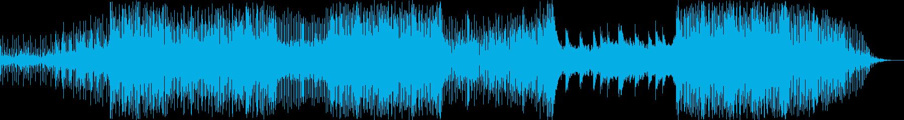 バリバリ疾走感EDMの再生済みの波形