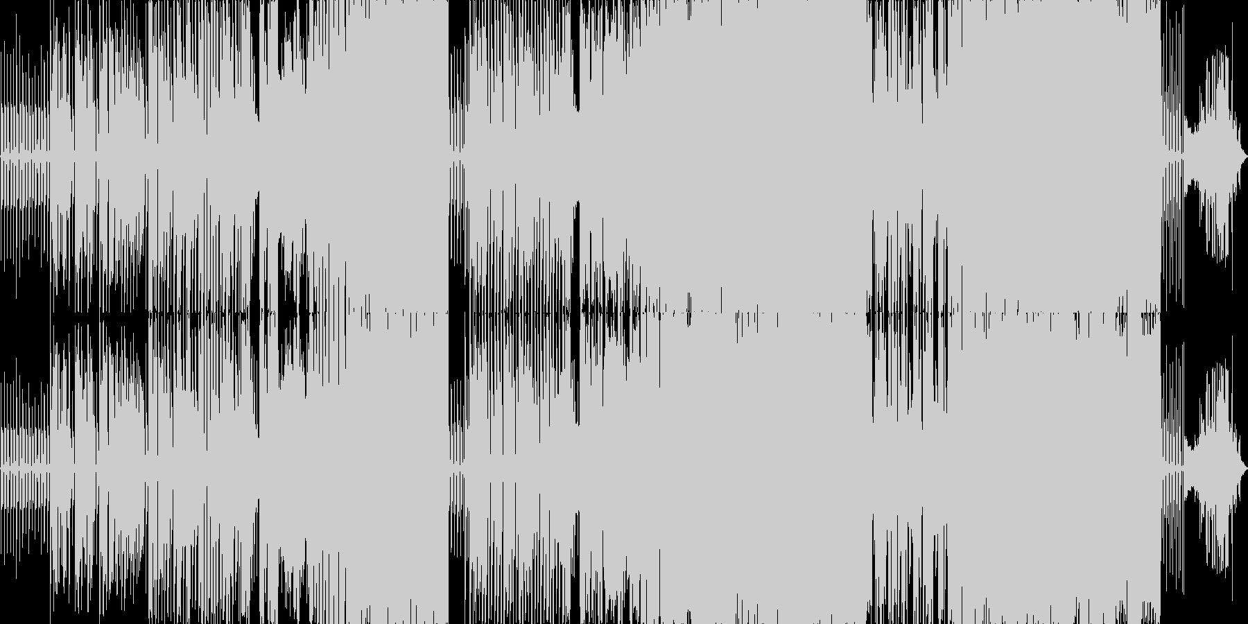 鬱々としたギターサウンドが特徴のバラードの未再生の波形