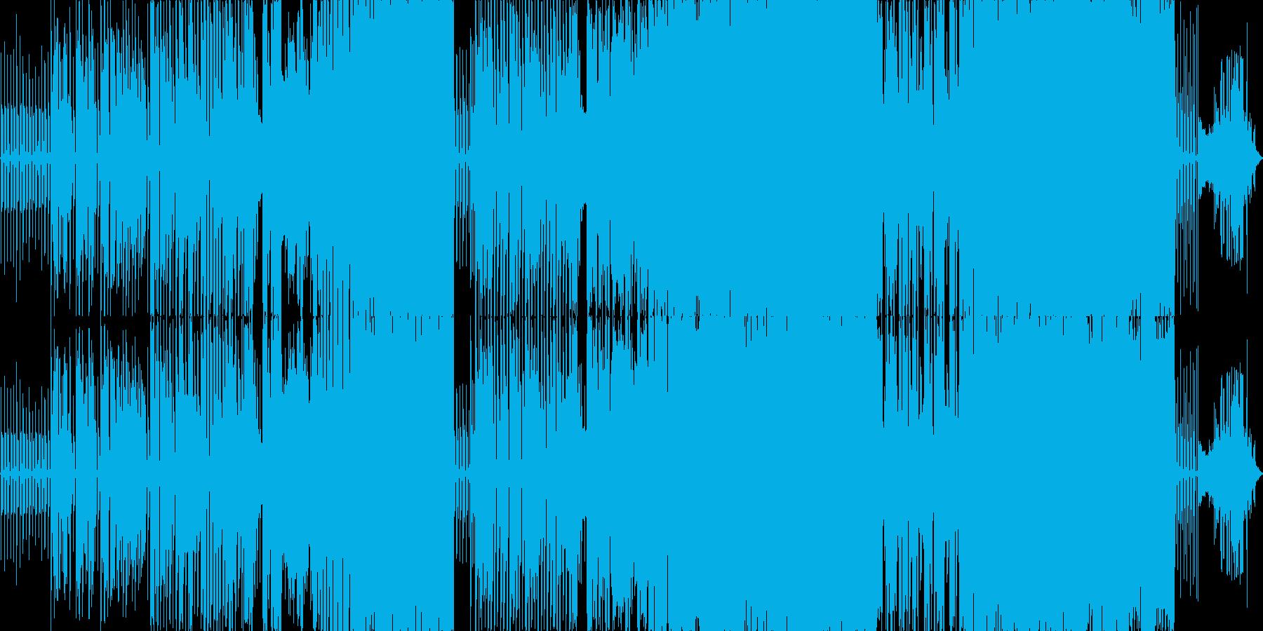 鬱々としたギターサウンドが特徴のバラードの再生済みの波形