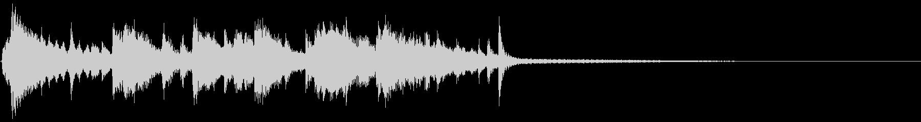KANTスロージャズジングル2の未再生の波形