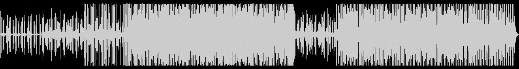 奇妙で生々しいエレクトロバラードの未再生の波形