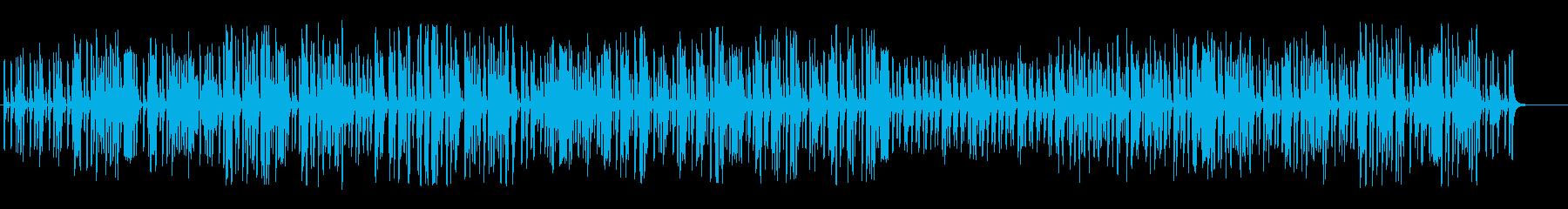 まったりふわふわオーケストラポップの再生済みの波形