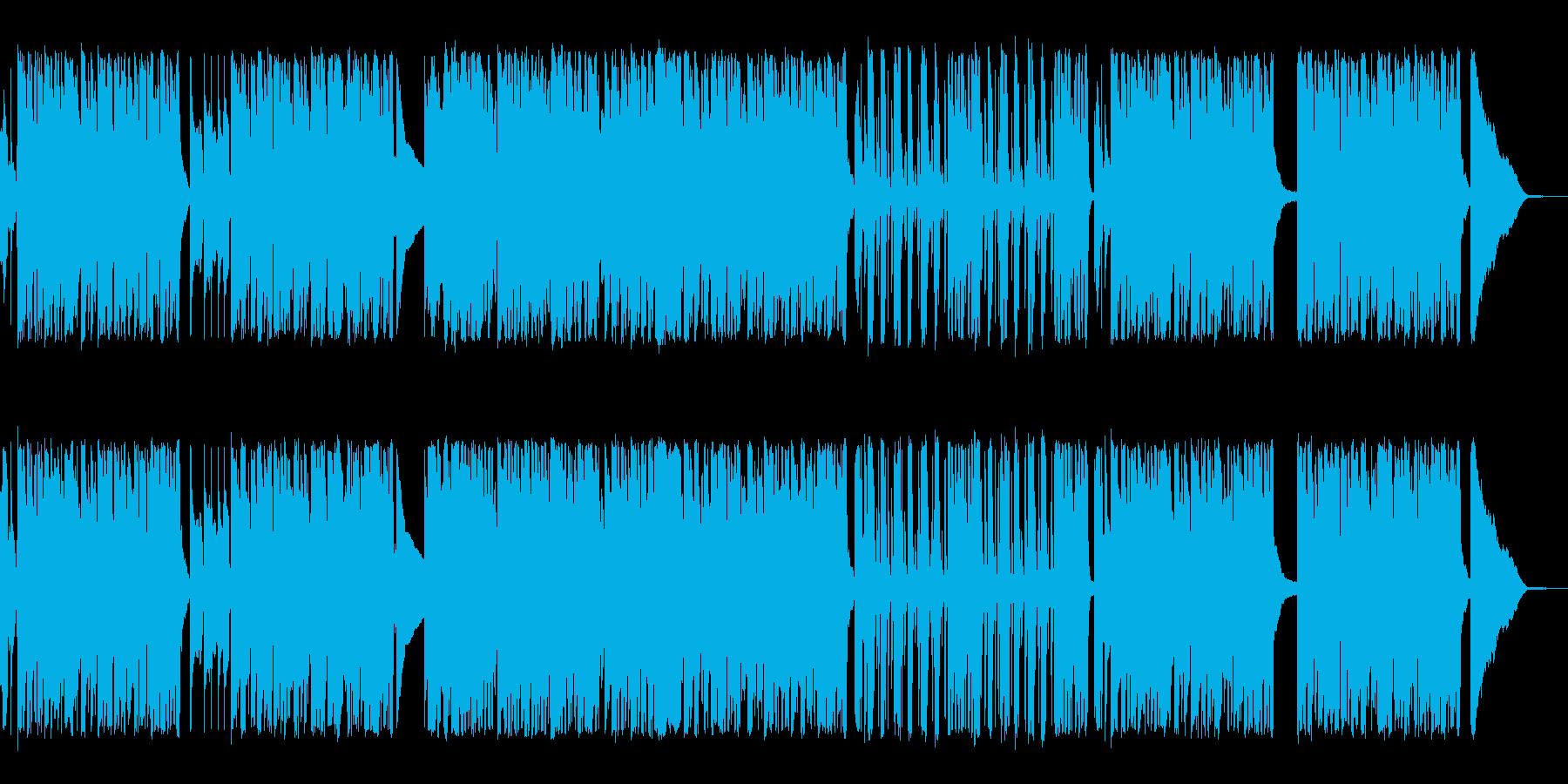 ヘヴィロック サスペンス 楽しげ ...の再生済みの波形