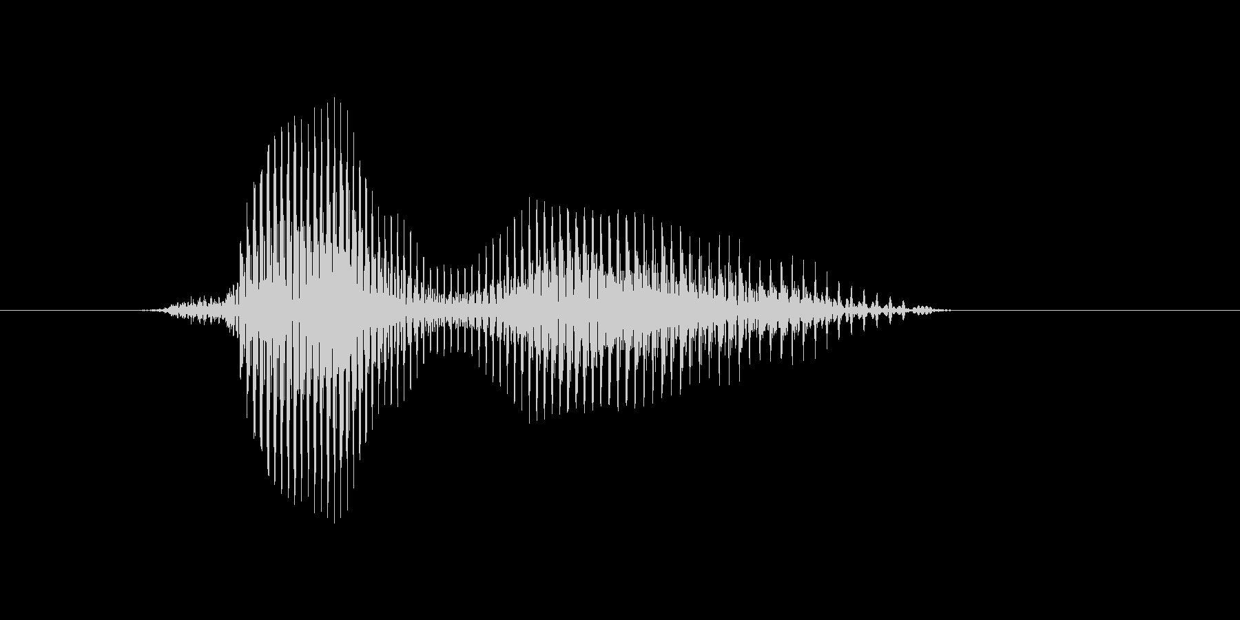 ハワイの未再生の波形