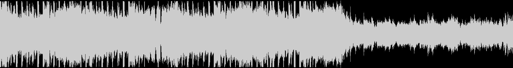 VP系9、クラブ系、クール、オシャレDの未再生の波形