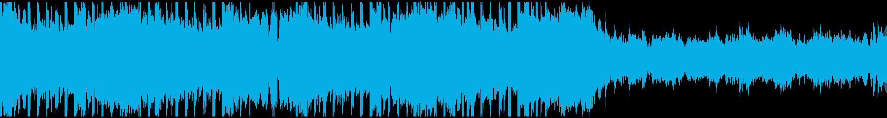 VP系9、クラブ系、クール、オシャレDの再生済みの波形