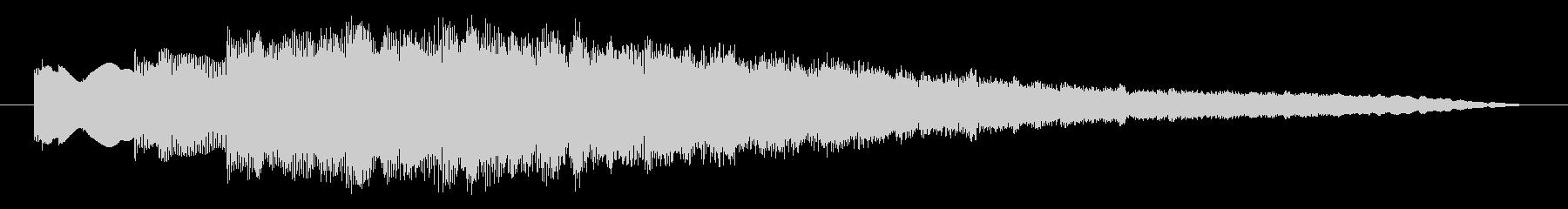 ジングル ベルメロディーハッピー02の未再生の波形