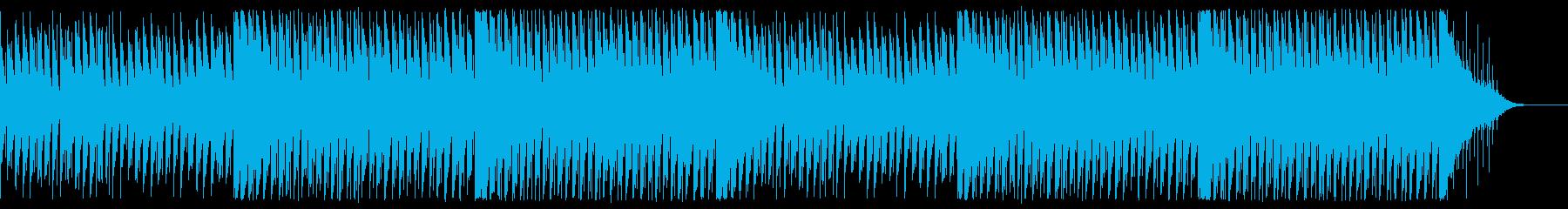 かわいい雰囲気のトロピカルハウスの再生済みの波形