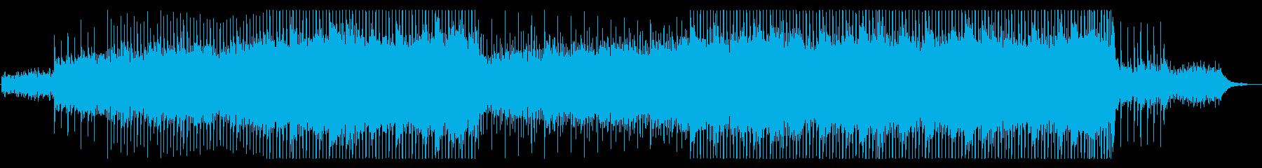透明感のあるポップコーポレート向けの再生済みの波形