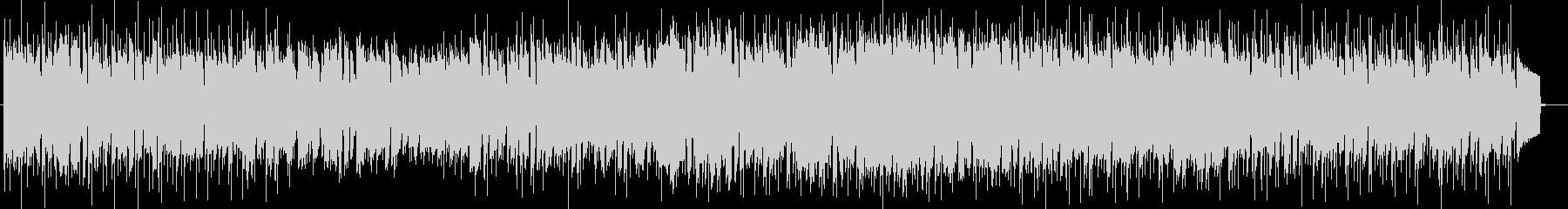 メロディアスなリラクゼーションサウンドの未再生の波形
