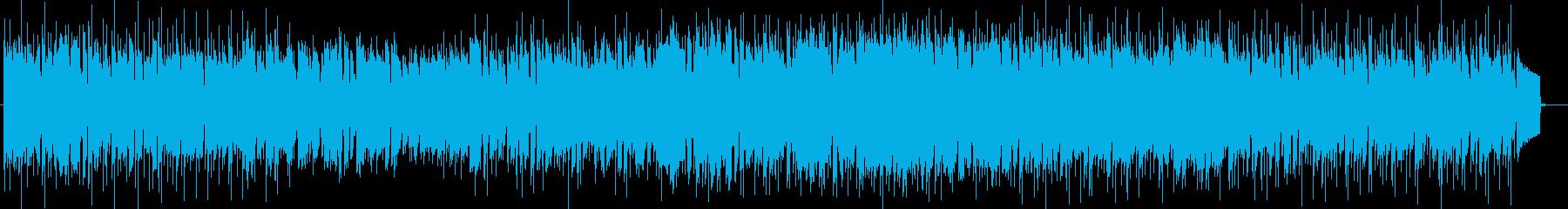 メロディアスなリラクゼーションサウンドの再生済みの波形