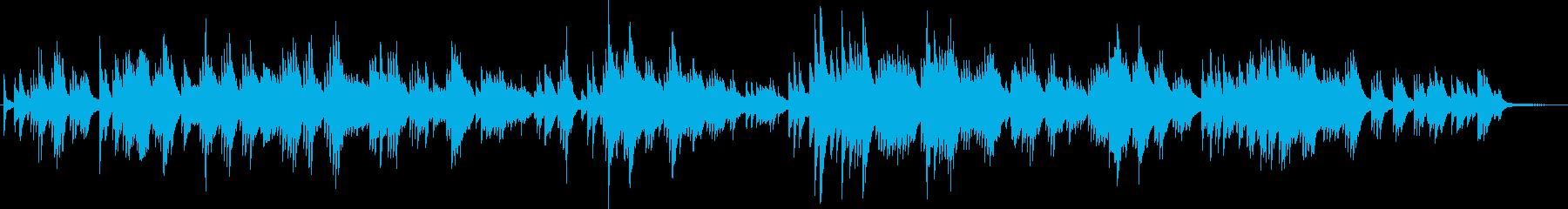 儚げで切ないメロディーの ピアノソロの再生済みの波形